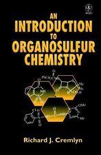 An Introduction to Organosulfur Chemistry, R. J. Cremlyn, Good Book