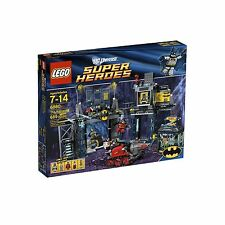 6860 THE BATCAVE lego NEW dc super heroes BATMAN POISEN IVY ROBIN BANE retired