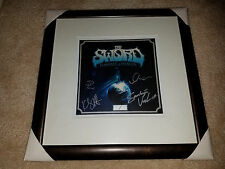 The Sword Hammer of Heaven BAND SIGNED AUTOGRAPH framed display