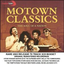 Best Greatest Motown Hits 3CD Jacksons Supremes Temptations Four Tops Commodores