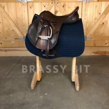 """18"""" Albion Legend K2 Jump Close Contact English Saddle W/Fittings"""