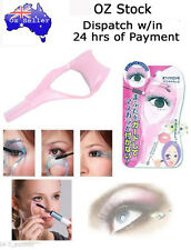 1 pc 3 in 1 Eyelash Mascara Application Guide Tool with Lash & Brow Comb...PINK