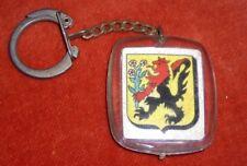 Porte-clé Keychain Armoiries HAMBACH 57 Edit° PIERRON Blason héraldique LION