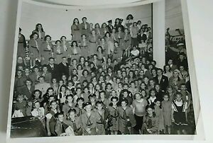 Santa Monica 1950 Girl Scouts Evening Outlook Bldg  8 x 10 Black & White Picture