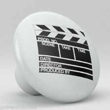 Film Sign Movie Clapper Board Ceramic Knobs Kitchen Drawer Cabinet Vanity 463