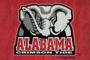 Alabama Crimson Tide, University of Alabama, Football -- College Sports Postcard