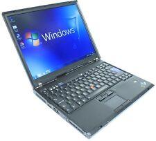 Windows 7 Laptop Barato IBM Lenovo Core 2 Duo 1.8Ghz 2 GB 80 GB Wifi DVD CD-RW