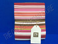 Pottery Barn Teen Dolce Stripe Bed College Dorm Duvet Cover Twin Deep Pink