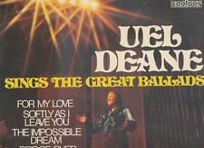UEL DEANE LP ALBUM SINGS THE GREAT BALLADS