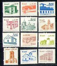 Brazil 1986 Buildings/Architecture/Churches 12v n27995