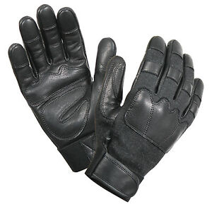 Leather Cut Resistant Tactical Gloves - Army Military Style