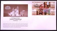 Mexico 1998 FDC Santo Domingo Cultural Center Oaxaca 4 stamps XF-Excell Cond.