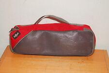 Eagle Creek Red Zippered Cassette Tape Soft Bag/Case