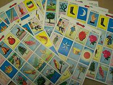 30 Boards Don Clemente Original Traditional Mexican Loteria Bingo Game - NO DECK