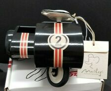 Maileg Rabbit Accessories - Black Metal Scooter & Sidecar  BNWT Boxed RRP £38.00
