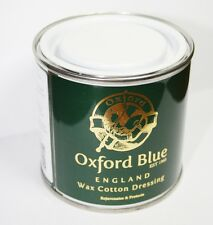 Oxford Blue Wax Dressing For Re Waxing Jackets and all Cotton 200ML Tin Tub Jar