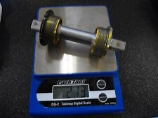 Sugino BB sealed bearings, sq taper, 113mm, alloy cups(gold), light -English thr
