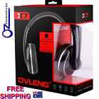 Headset Headphone with microphone silver & black colour new for PC SKYPE