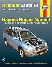 Hyundai Santa Fe Automotive Repair Manual. 2001-12 by Haynes Publishing (Paperba
