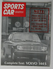 VOLVO 144S brochure SPORTS CAR Graphic extract English - Canada - ST501000418