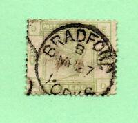 Great Britain - SG# 194 Used /Bradford Yorks CDS  -  Lot 1220814