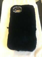Wild and Woolly Black mink Fur iPhone 6/7 Cell Phone Case