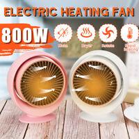800W Mini Electric r Portable Space Home Office Winter Warmer Fan Air  AB K