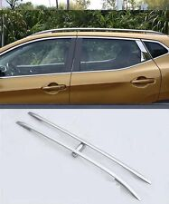 Roof Rack Side Rails Bars for 2014-2015 Nissan Qashqai alloy + plastic 2016