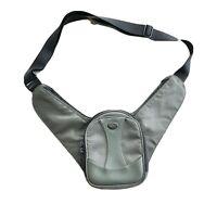 TUMI Crossbody Men's Bag Olive Black Multi Zip Pocket UNISEX