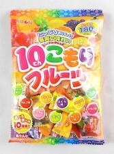 Ribon Ten Komori Fruits Japanese Candy 10 Assorted Flavors 6.34 Oz. USA Seller