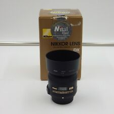 NIKON AF-S DX MICRO 40mm F 2.8 G LENS FOR NIKON APS-C CAMERA - OBIETTIVO