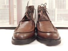 Men's Canali Dark Brown Split Toe Ankle Boots Size 45 EUR, 12 USA