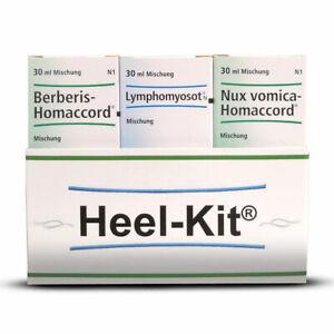 HEEL Detox Kit Heel Kit 30ml x 3 Homeopathic Remedies