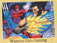 1994 Fleer '95 Ultra Magneto vs. Wolverine #134 USED Greatest Battles Card