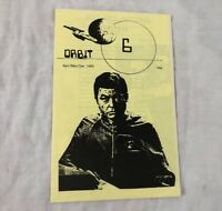 Star Trek TOS Orbit #6 Fanzine Magazine Vtg Kansas City 1980 Standard McCoy