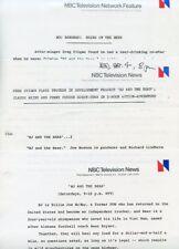 GREG EVIGAN BEAR BRYANT BJ AND THE BEAR RARE ORIGINAL 1978 NBC TV PRESS MATERIAL