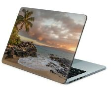 Universal Laptop Skin Notebook Netbook MacBook Aufkleber Sticker Palmenbucht