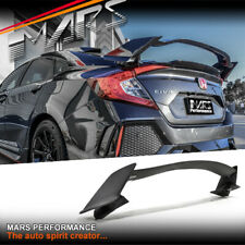 ABS Plastic Type R Style Rear Trunk Boot Spoiler Lip for Honda CIVIC X Sedan 16+