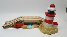 Thomas & Friends Train Wood Lighthouse Bridge Train Track Accessory