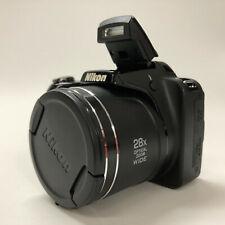 Nikon COOLPIX L340 20.2 MP Digital Camera - Black w/ Strap, Batteries **READ**