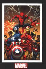 Enforcers-Marvel Fine Art Limited Edition Lithograph-Cap,IM,Power Man,Spider-Man