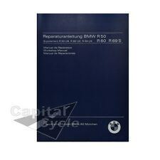 BMW Book Workshop Repair Manual Workshop Manual R50 R60 R69 R69S US