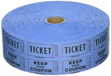 Roll of tickets coupons carnival raffle event