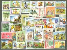 Scouts & Scouting 200 all different collection stamps