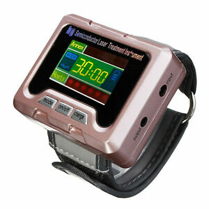 650 nm Pro Laser Therapy Wrist Apparatus High Blood Pressure Watch High Fat Rose