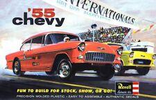 Revell '55 Chevy Gasser Drag Car Sticker or Magnet
