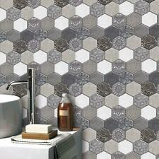 30*30cm Tiles Sticker PVC Self-adhensive Wallpaper Kitchen Bathroom Art Decal