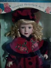 Victorian Rose Collection 1997 Limited Edition Genuine Porcelaine Doll.