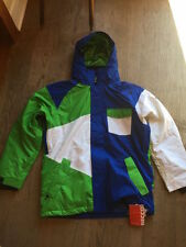 MEDIUM Sessions Mens insulated Snowboard Jacket,  RECCO, SEAMS TAPED