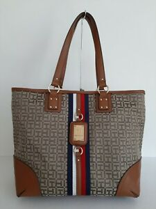 Tommy Hilfiger Women's Brown Tote Bag